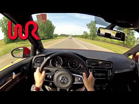 2015 Volkswagen GTI (Manual) - WR TV POV Test Drive (City)