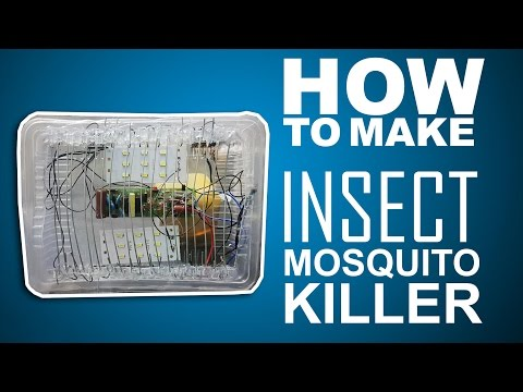 How To Make Insect & Mosquito Killer - kasnox