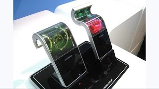 Samsung showcased foldable display phones at CES 2018 | GSMarina news | Compare hub