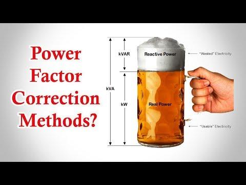 Power Factor Correction - Power Factor Correction Methods - Power Factor