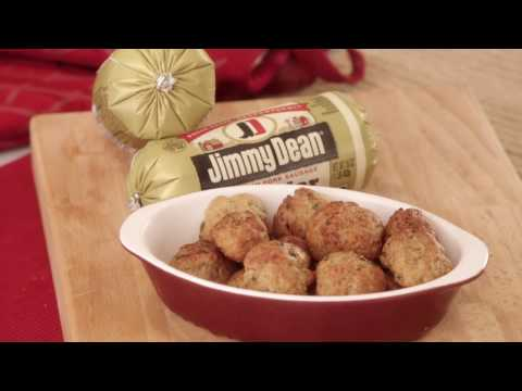 Learn how to make Jimmy Dean Cheesy Sausage Balls