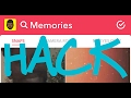 SNAPCHAT HACKS: HOW TO FIX A GLITCH IN SNAPCHAT MEMORIES AND SUBMIT A SUPPORT TICKET.