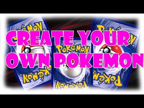 Pokemon Card maker!!! (Better Version)