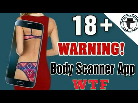 Real X-ray Body Scanner App on Android [ 2017 ]
