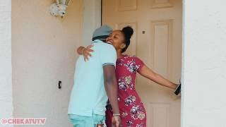 VALENTINES DAY | Kenyan Girlfriend Surprises Boyfriend