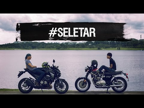 Riding buddies, Lim Yu-Beng and Nessa Anwar explore #Seletar