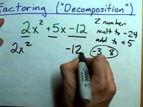 How to Factor (Decomposition)