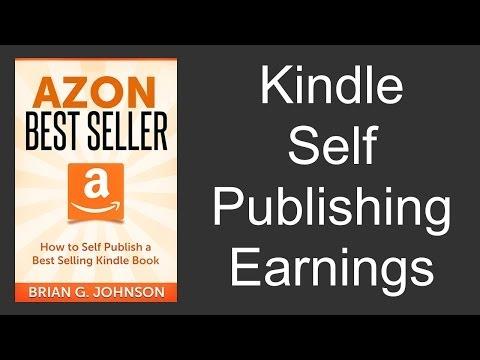 Kindle Self Publishing Earnings - Marketing Guide to Increasing Kindle Earnings