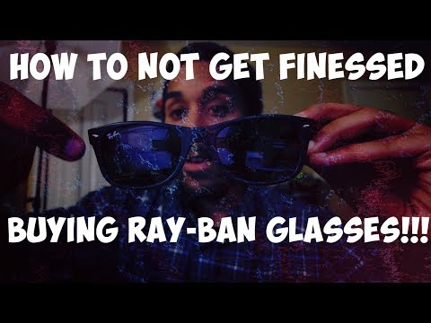 Don't get finessed buying Ray-Bans online