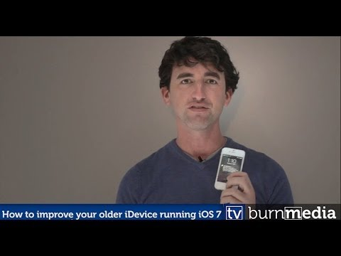 How to improve the speed of your older iPhone running iOS 7