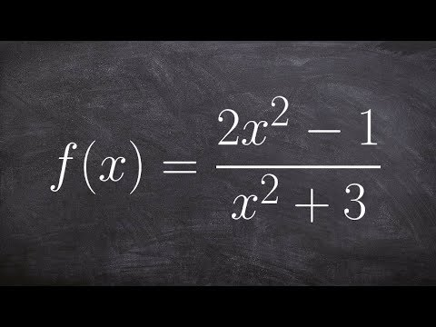 Identify asymptotes and intercepts of a rational function