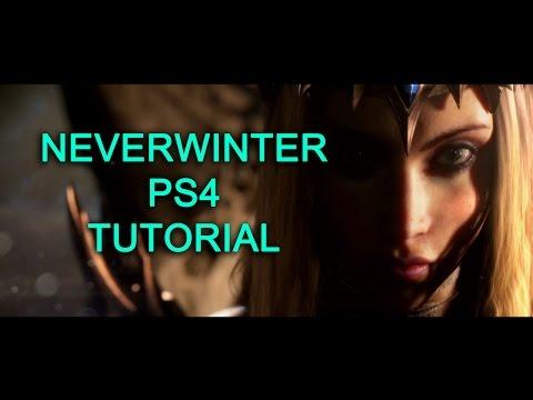 Neverwinter PS4 Tutorial Básico