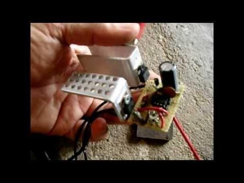 12 Volt Power Inverter Circuit ~ High Output/Freq Adjustable