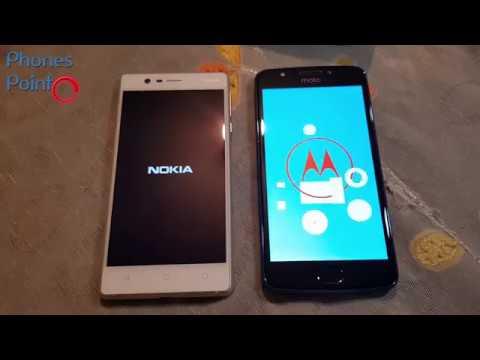 Nokia 3 vs Moto E4 Speedtest