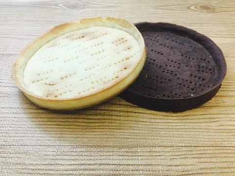Quick & easy sweet pie dough-Tart shells