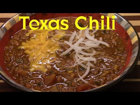 Texas Homestyle Chili with Beans Recipe Tutorial S2 Ep226