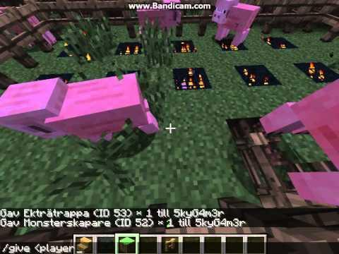 how to get pig spawner on minecraft!!