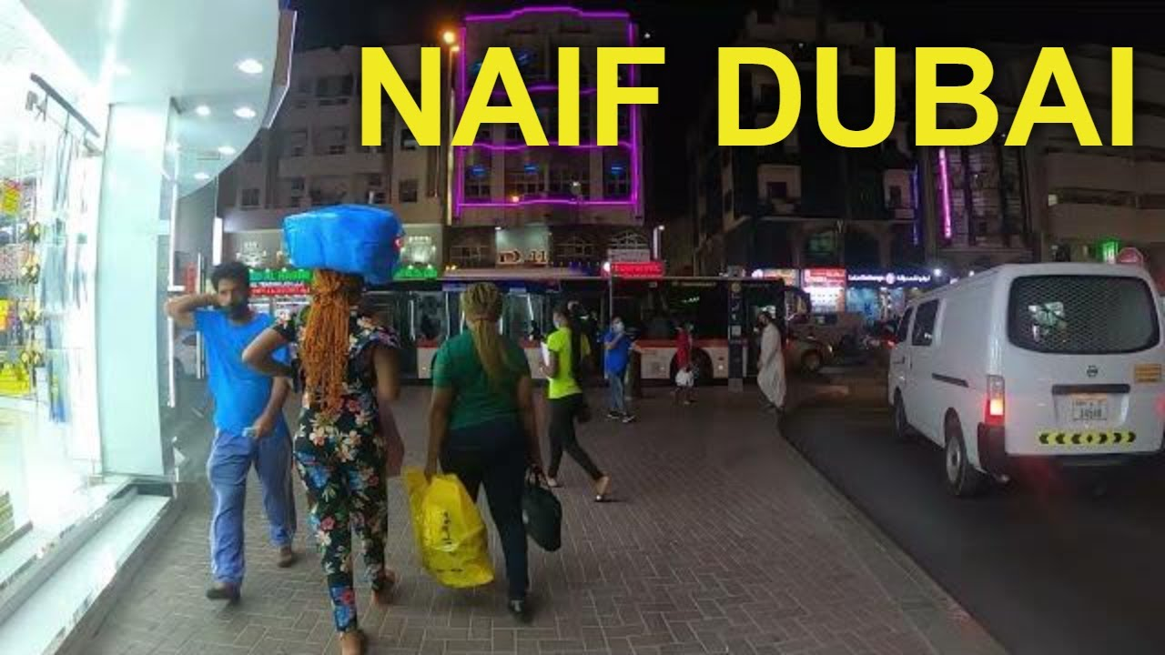 Download Naif, Deira Dubai Night Street Walking Tour on a Busy Sunday (April 4, 2021) MP3 Gratis