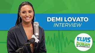Demi Lovato on Her Songwriting Process, Upcoming Album, and Being Single | Elvis Duran Show
