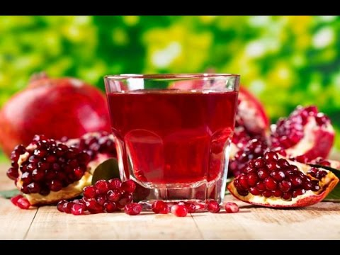 UNCLOG AND CLEAN YOUR ARTERIES WITH POMEGRANATE JUICE