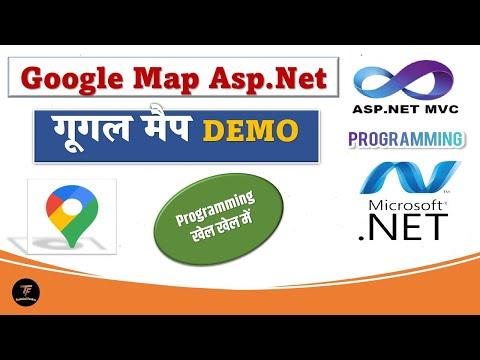 google map in asp.net