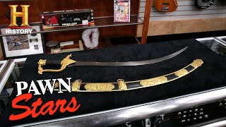 Pawn Stars: Unbelievable Price for Historic Russian Sword (Season 17) | History