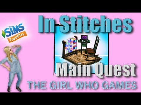 The Sims Freeplay- In Stitches Quest