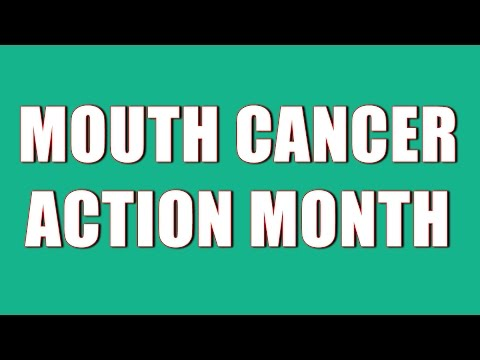 Mouth Cancer Action Month November 2016 - CornerHouse Dental Care