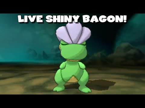 LIVE SHINY BAGON AFTER 26 HORDE ENCOUNTERS -  Pokemon Omega Ruby/Alpha Sapphire Highlight