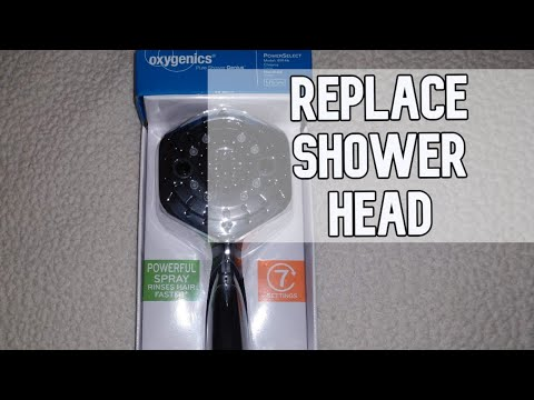 How to replace a shower head DIY video #diy #showerhead #bathroom
