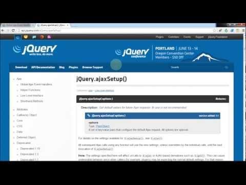 JQuery Ajax Functions (KnockoutJs,Web-API) بالعربية