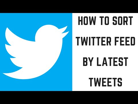 How to Sort Twitter Feed Chronologically