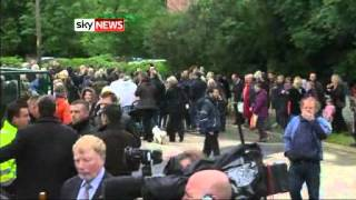 The Funeral Of Bee Gee Robin Gibb Taking Place In Thame, Oxfordshire - Sky News