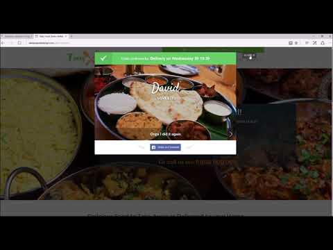 Online Food Ordering System Demo