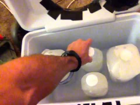 Homemade air conditioner cooler review