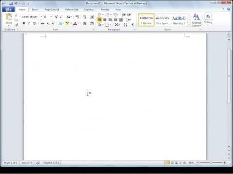 Microsoft Office 2010 ScreenTip Language