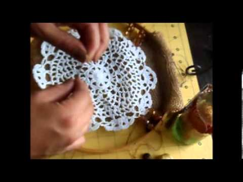 UPCYCLED THURSDAY Turn an Embroidery Hoop into a Dream Catcher