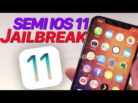 iOS 11 Semi Jailbreak Released! Tweak Tool for iOS 10 - 11.1.2