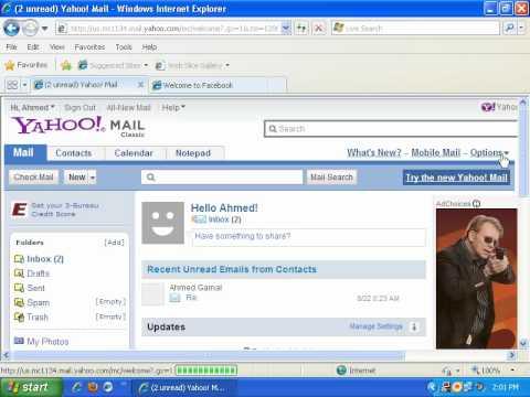 how to change yahoo password