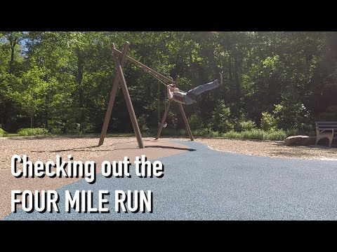 Checking out the Four Mile Run and W&OD Trails