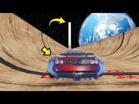 435 Km/h O carro mais rápido do mundo Descendo a Rampa mais alta do Mundo! GTA 5 Venom GT