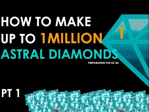 NEVERWINTER PS4 PT1 HOW TO MAKE UP TO 1 MILLION ASTRAL DIAMONDS