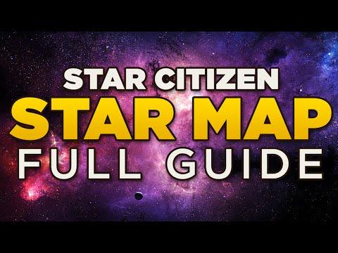 STAR MAP - Full Guide | Star Citizen Ark Star Map