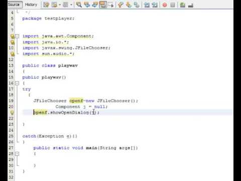 How to Play Audio File in Java  wav files by Srijon Chakraborty