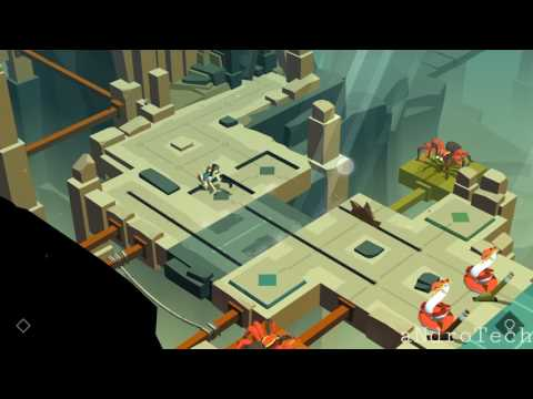 Lara Croft GO - 4. Blades of prey (THE MAZE OF STONES )