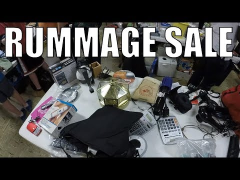 Rummage Sale Madness BAG SALE! HUGE HAUL!