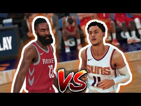 NBA 2K18 Trae Young My Career - The Beard vs The Kid Ep. 7
