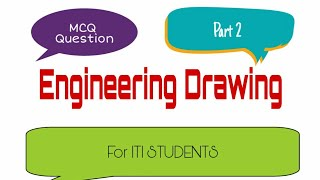 Engineering drawing objective questions test -2 for ALP CBT -2