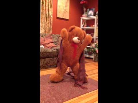 Diy teddy bear costume