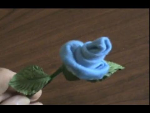 How to Make Baby Socks/Washcloth Roses & Silk Flower Pens (Instructions Tutorial)
